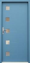 Lauko durys P071